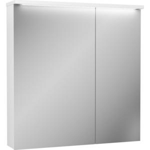 Зеркальный шкаф OWL 1975 Malaren 80x20,5 см, белый (OW03.11.05)