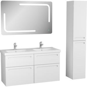 Мебель для ванной OWL 1975 Otalia 125x47x70,5 см, белый лак