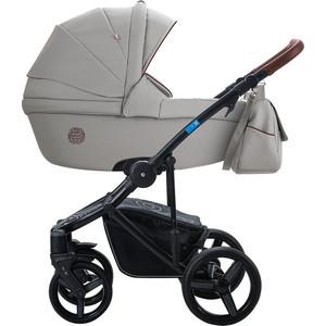 Коляска 2 в 1 Aroteam BARTOLO PRIMA 06 (серая кожа) коляска классическая bart plast fenix len 2 в 1 серая