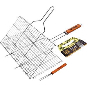 Решетка-гриль Boyscout 61301 для стейков вилка 450х260х20