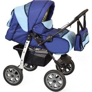 Коляска прогулочная Smile Line ALF I /Al 08 (синий голубой) (УТ0007613) коляска трехколесная i likebaby babyboom