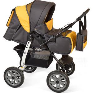 Коляска прогулочная Smile Line ALF I /Al 09 (серый желтый) (УТ0007614) коляска прогулочная camarelo eos 09 желтый серый eos 09
