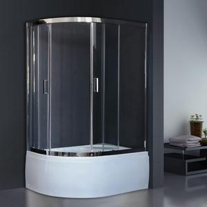 Душевой уголок Royal Bath BK 120х80х200 прозрачное, правый (RB8120BK-T-CH-R)