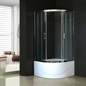 Душевой уголок Royal Bath BK 90х90х200 прозрачное (RB90BK-T-CH)