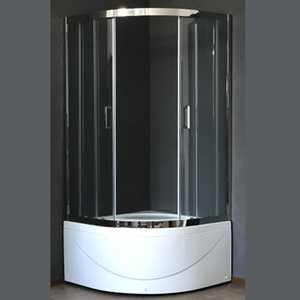 Душевой уголок Royal Bath RB-L3001 100х100х155 стекло прозрачное (RB-L-3001-1)