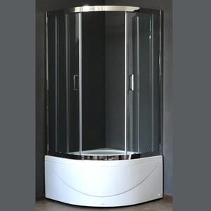 Душевой уголок Royal Bath RB-L3001 90х90х155 стекло прозрачное (RB-L-3001-2)