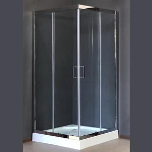 Душевой уголок Royal Bath RB-L3002 90х90х185 стекло прозрачное (RB-L-3002-2)
