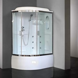 Душевая кабина Royal Bath BK2 120х80х217 стекло прозрачное, правая (RB8120BK2-T-CH-R)