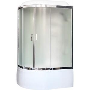 Душевая кабина Royal Bath BK3 120х80х217 стекло белое/шиншилла, правая (RB8120BK3-WC-CH-R)