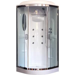 Душевая кабина Royal Bath HK2 90х90х217 стекло прозрачное (RB90HK2-T-CH)