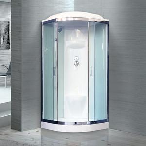 Душевая кабина Royal Bath HK6 90х90х217 стекло белое/прозрачное (RB90HK6-WT-CH)