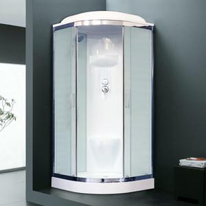 Душевая кабина Royal Bath HK6 90х90х217 стекло белое/шиншилла (RB90HK6-WC-CH)