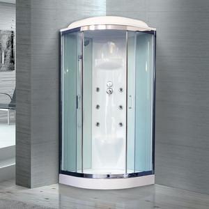 Душевая кабина Royal Bath HK7 90х90х217 стекло белое/прозрачное (RB90HK7-WT-CH) душевая кабина royal bath bk2 90х90х217 стекло прозрачное rb90bk2 t ch