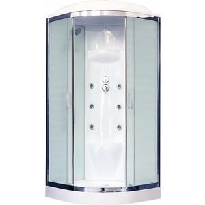 Душевая кабина Royal Bath HK7 90х90х217 стекло белое/шиншилла (RB90HK7-WC-CH)