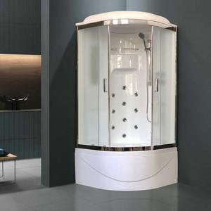 Душевая кабина Royal Bath NRW 100х100х225 стекло шиншилла (RB100NRW-C-CH)