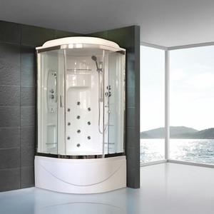 Душевая кабина Royal Bath NRW 90х90х225 стекло прозрачное (RB90NRW-T-CH)