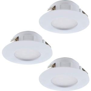 Встраиваемый светодиодный светильник Eglo 95814 встраиваемый светодиодный светильник eglo pineda 95814