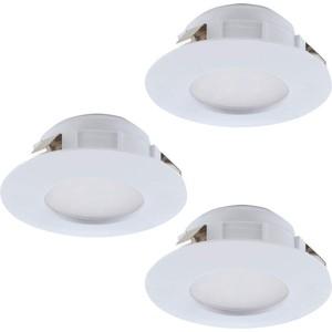 Встраиваемый светодиодный светильник Eglo 95821 встраиваемый светодиодный светильник eglo pineda 95814