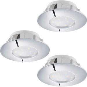 Встраиваемый светодиодный светильник Eglo 95822 встраиваемый светодиодный светильник eglo pineda 95874
