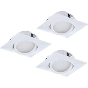 Встраиваемый светодиодный светильник Eglo 95844 встраиваемый светодиодный светильник eglo pineda 95874