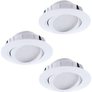 Встраиваемый светодиодный светильник Eglo 95851 встраиваемый светодиодный светильник eglo 97027