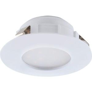 Встраиваемый светодиодный светильник Eglo 95811 встраиваемый светодиодный светильник eglo 97027