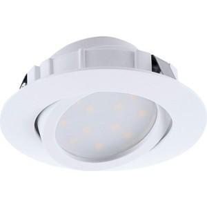 Встраиваемый светодиодный светильник Eglo 95854 встраиваемый светодиодный светильник eglo 97027