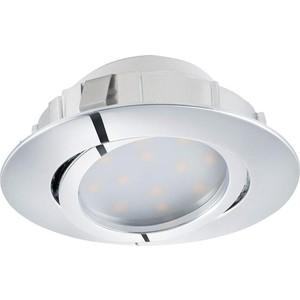 Встраиваемый светодиодный светильник Eglo 95855 встраиваемый светодиодный светильник eglo pineda 1 95919