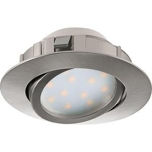 Встраиваемый светодиодный светильник Eglo 95856 встраиваемый светодиодный светильник eglo pineda 95874