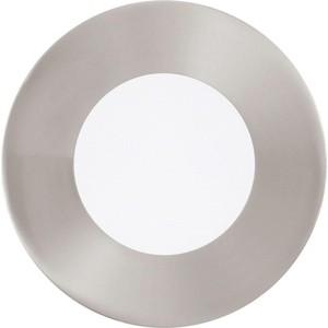 Встраиваемый светодиодный светильник Eglo 96406 встраиваемый светодиодный светильник eglo 97027