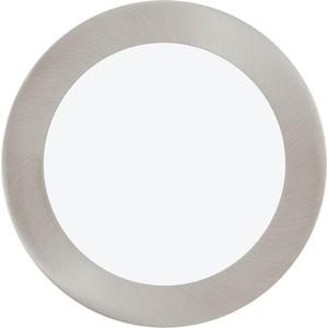 Встраиваемый светодиодный светильник Eglo 31672 встраиваемый светодиодный светильник eglo pineda 95814