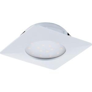 Встраиваемый светодиодный светильник Eglo 95861 встраиваемый светодиодный светильник eglo 97027