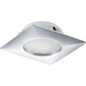 Встраиваемый светодиодный светильник Eglo 95862 встраиваемый светодиодный светильник eglo pineda 95874