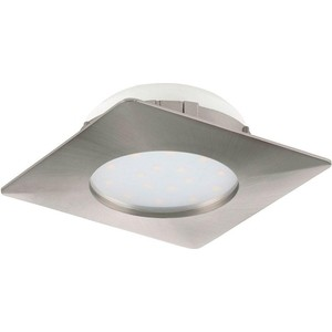 Встраиваемый светодиодный светильник Eglo 95863 встраиваемый светодиодный светильник eglo 97027