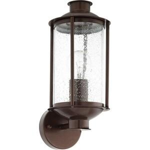 Уличный настенный светильник Eglo 96223 уличный настенный светильник brilliant artu 96128 86