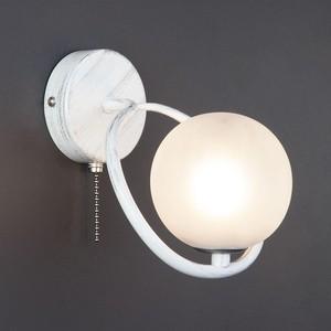 Бра Eurosvet 70089/1 белый с серебром фото