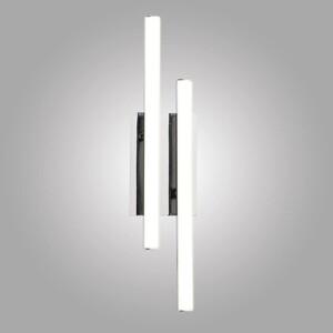 цена на Настенный светодиодный светильник Eurosvet 90020/2 хром