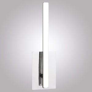 Настенный светодиодный светильник Eurosvet 90020/1 хром настенный светодиодный светильник eurosvet royal 90049 1 хром