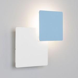 Настенный светодиодный светильник Eurosvet 40136/1 белый/голубой