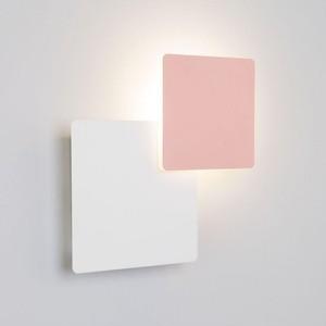 Настенный светодиодный светильник Eurosvet 40136/1 белый/розовый