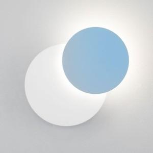 Настенный светодиодный светильник Eurosvet 40135/1 белый/голубой