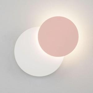 Настенный светодиодный светильник Eurosvet 40135/1 белый/розовый