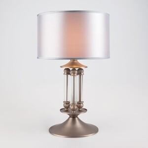 Настольная лампа Eurosvet 01045/1 сатин-никель торшер eurosvet 01050 1 сатин никель