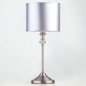 Настольная лампа Eurosvet 01049/1 сатин-никель торшер eurosvet 01050 1 сатин никель