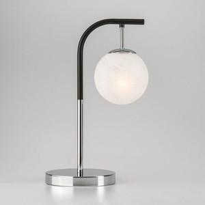 Настольная лампа Eurosvet 01039/1 хром/черный