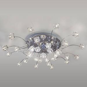 Потолочная светодиодная люстра Eurosvet 80113/31 хром/белый