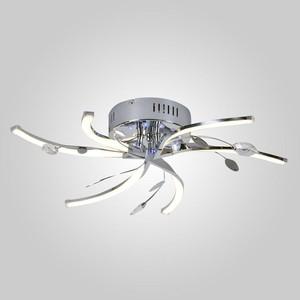 Потолочная светодиодная люстра Eurosvet 90125/6 хром