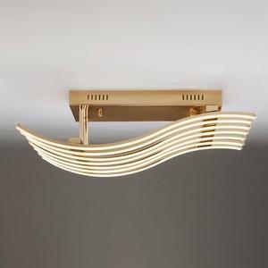 Потолочный светодиодный светильник Eurosvet 90091/7 золото потолочный светодиодный светильник eurosvet 90041 6 золото
