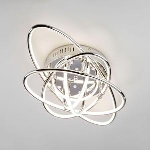 Потолочный светодиодный светильник Eurosvet 90132/9 хром