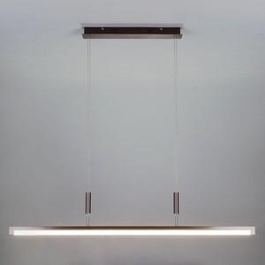 Подвесной светодиодный светильник Eurosvet 90030/1 коричневый подвесной светильник eurosvet тоскана 50047 1 коричневый